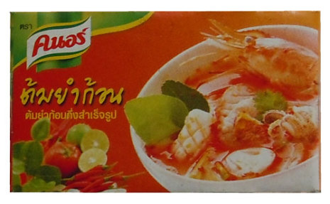 Knorr tärning Tom Yum 24 g