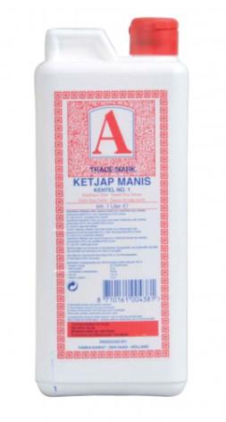 Ketjap Manis Kentel No. 1, 1 liter
