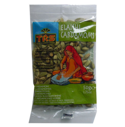 Cardamoms Green Whole 50 g TRS