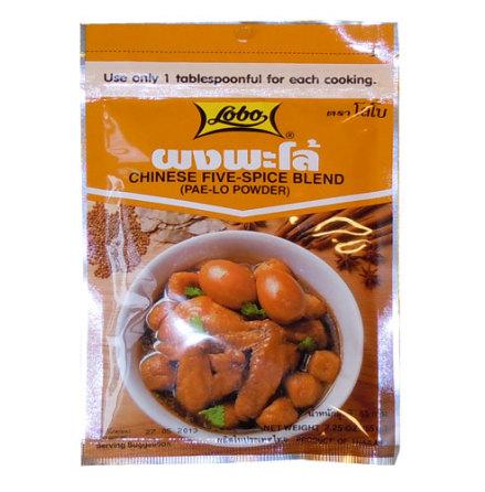 Chinese Five Spice Blend (Pa-Lo Powder) 65 g Lobo