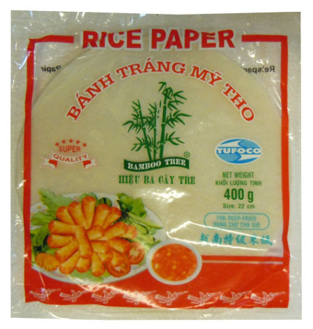 Rice Paper Deep-Fry 400 g Bamboo Tree