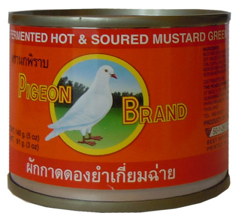 Fermented Mustard Spicy 140 g Pigeon
