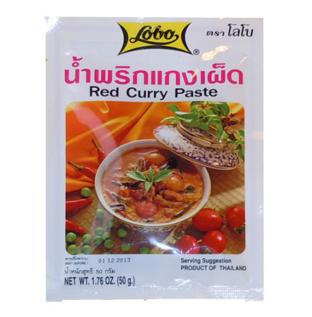 Red Curry Paste 50 g Lobo