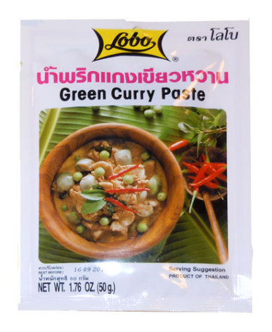 Green Curry Paste 50 g Lobo