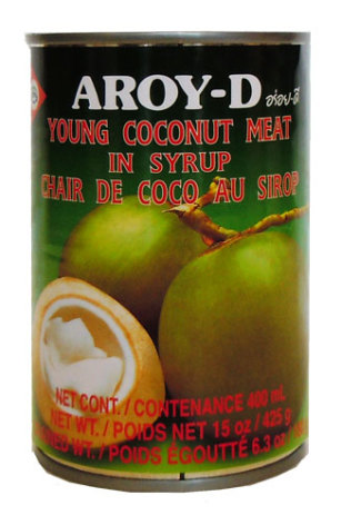 Young Coconut Meat 400 g Aroy-D