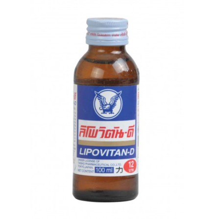 Energy Drink Lipo vitan-D 100 ml