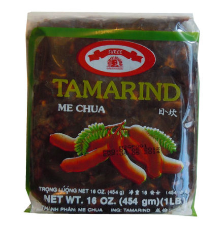 Wet Tamarind without Seeds 454 g Suree
