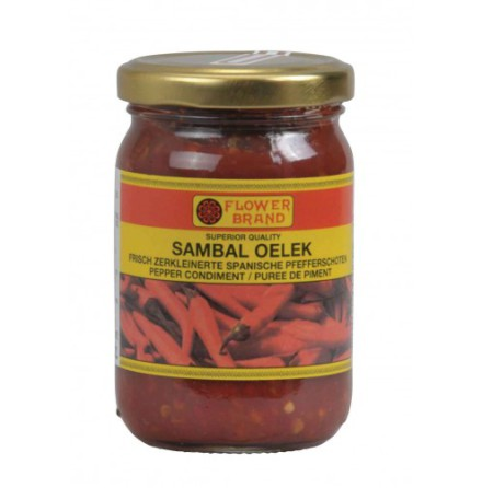 Sambal Oelek Flower Brand