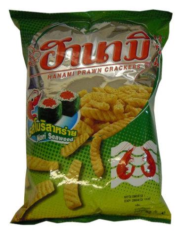 Hanami Nori Seaweed Prawn Cracker 60g