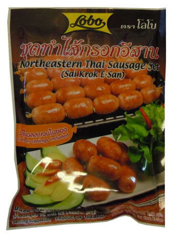Northeastern Thai Sausage Set (Sai Krok E-san)