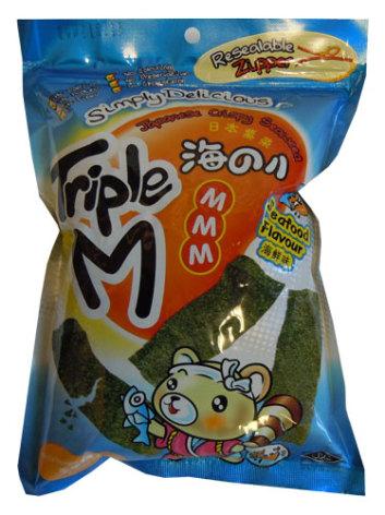 Crispy Seaweed Seafood 36 g Triple M