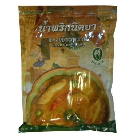 Green Curry Paste 1 kg Nittaya