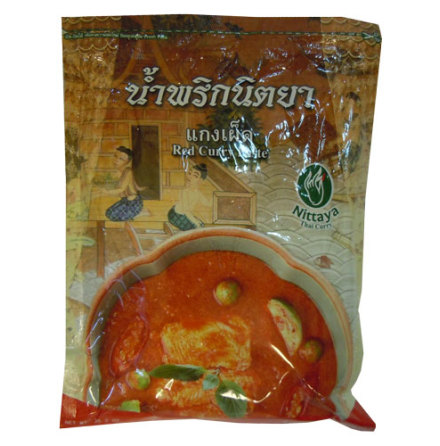Red Curry Paste 1 kg Nittaya