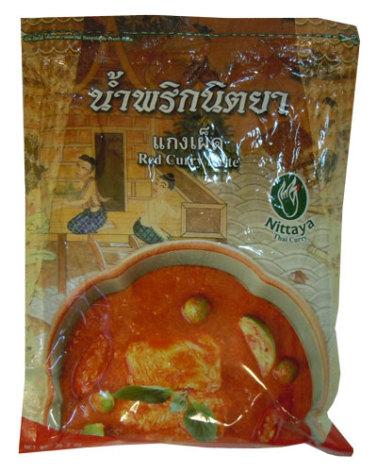 Red Curry Paste 1 kg Nittaya