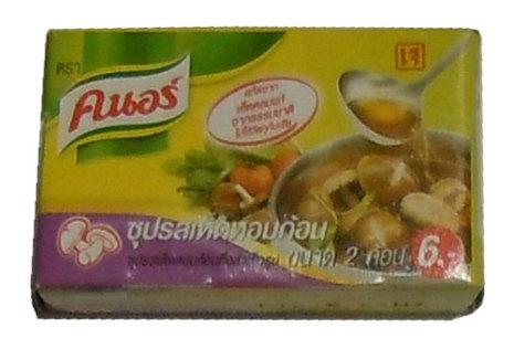 Knorr tärning Mushroom 20 g