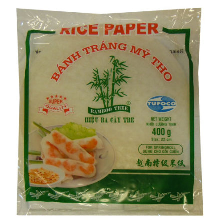 Rice Paper 400g 22cm Bamboo Tree