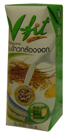Brown Rice Milk 250 ml V-Fit