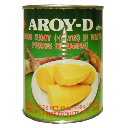 Bamboo Shoot Halves 540 g Aroy-D