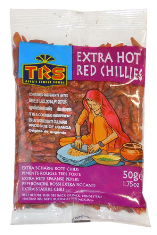 Red Chillies X-hot 50 g TRS