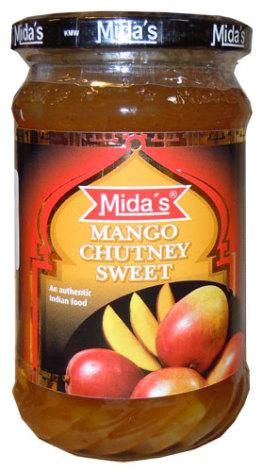 Mango Chutney Sweet 340g Mid