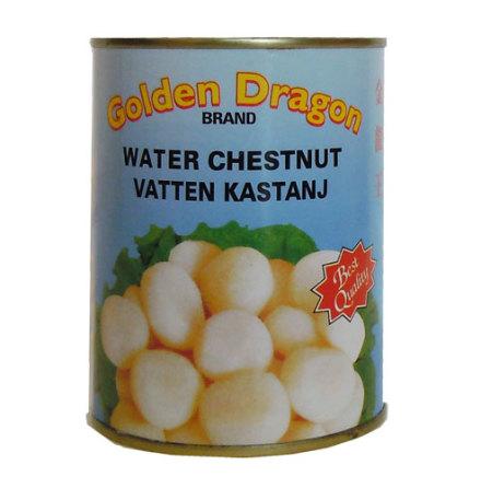 Vattenkastanj hel 567 g Golden Dragon