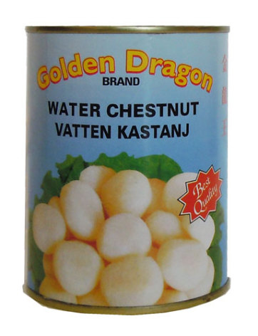 Vattenkastanj hel 567 g Golden Dragon