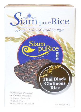 Black Glutinous Rice 1kg Siam pure Rice