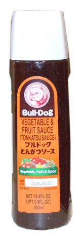 Tonkatsu sås 500 ml Bull-Dog