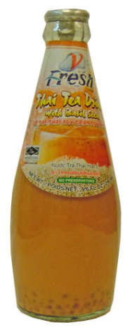 V Fresh Thai Tea w/Basil Seed 290ml
