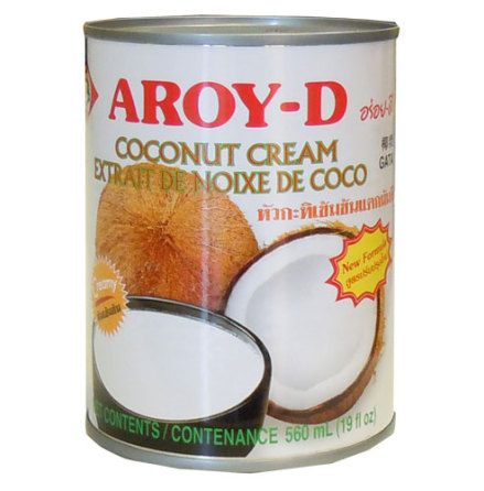 Coconut Cream 560 ml Aroy-D