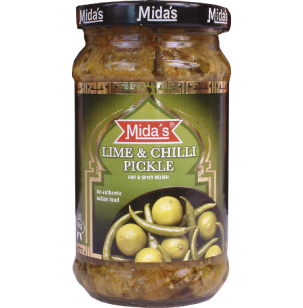 Lime & Chilli Pickle 300g Mida