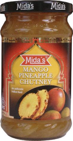 Mango Pineapple Chutney 340g Mida
