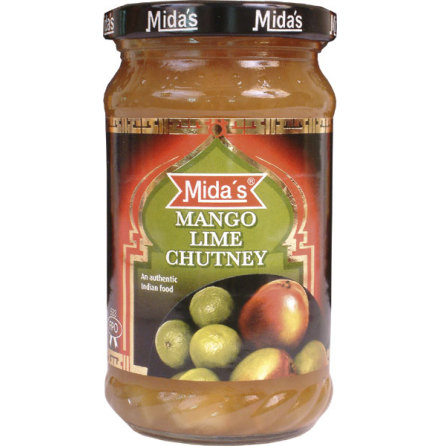 Mango Lime Chutney 340g Mida