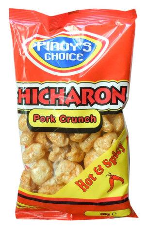 Chicharon Hot & Spicy 80g Pinoy´s Choice