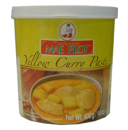 Yellow Curry Paste 400 g Mae Ploy
