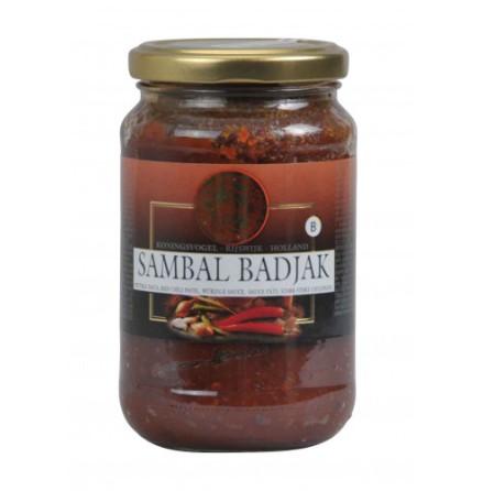 Sambal Badjak 375 g Koningsvogel