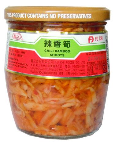 Chili Bamboo 370g Fu Chi