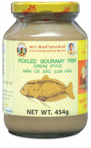 Pickled Gouramy Fish Cream Style 454g Pantai