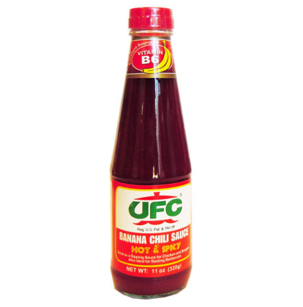 Banana Chili Sauce Hot & Spicy 320 g UFC