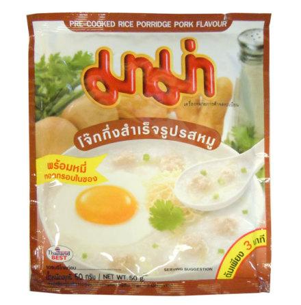 Mama Rice Porridge Pork 50 g