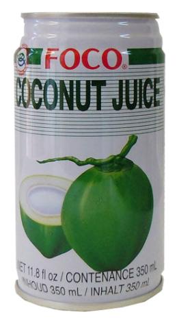 Coconut juice 350 ml Foco