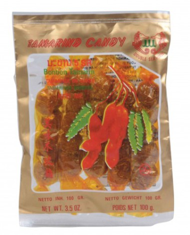 Tamarind candy 100 g Double Sea Horse