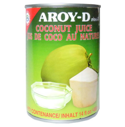 Coconut Juice 400ml Aroy-D