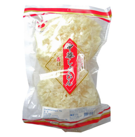 Dried White Fungus 70g Double Peach