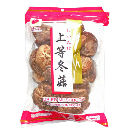 Dried Mushroom Whole 100 g Double Peach