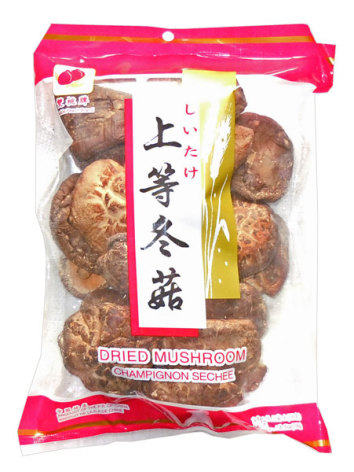Dried Mushroom Whole 100 g Double Peach