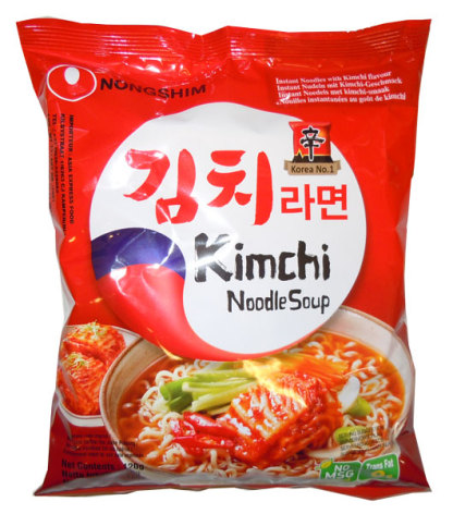 Kimchi Noodles 120g Nongshim