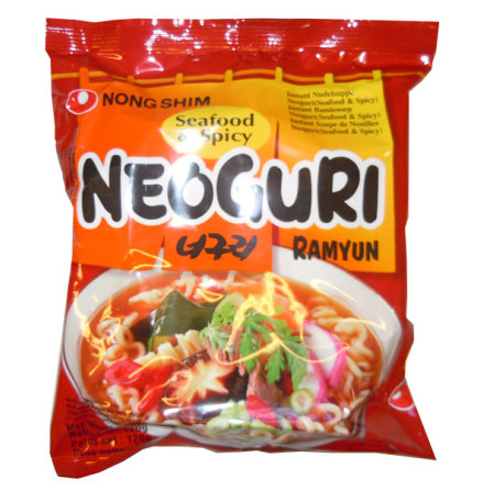 Neoguri Hot Noodles 120g Nongshim