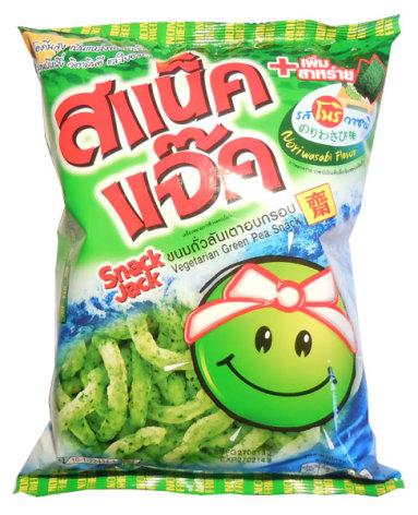 Green Pea Nori Wasabi 70 g Snack Jack