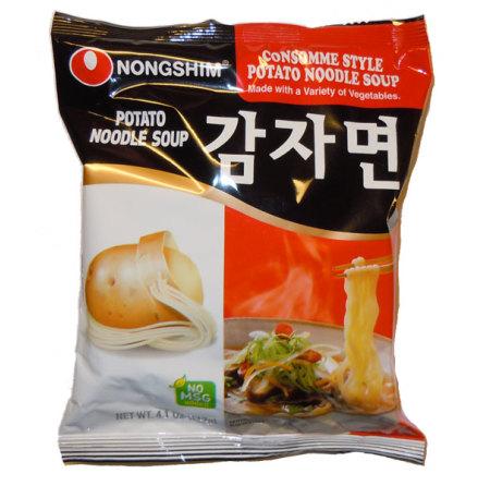 Instant Potato Noodle Soup 100g Nongshim